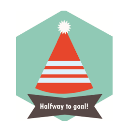 50% of Goal!